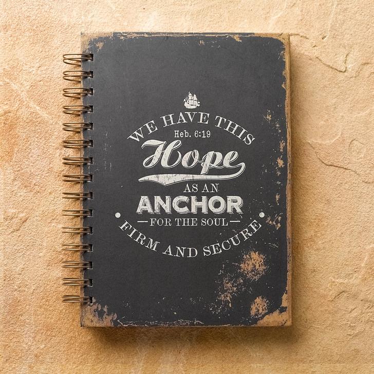 "Jurnal ""Hope As An Anchor"" Hebrews 6:19"
