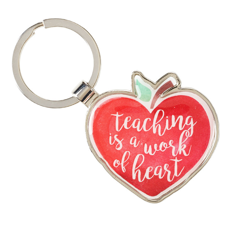 Breloc cutie metal: Teaching is a Work of the Heart