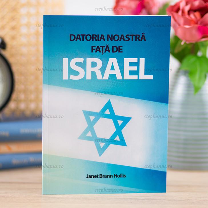 Datoria noastra fata de Israel
