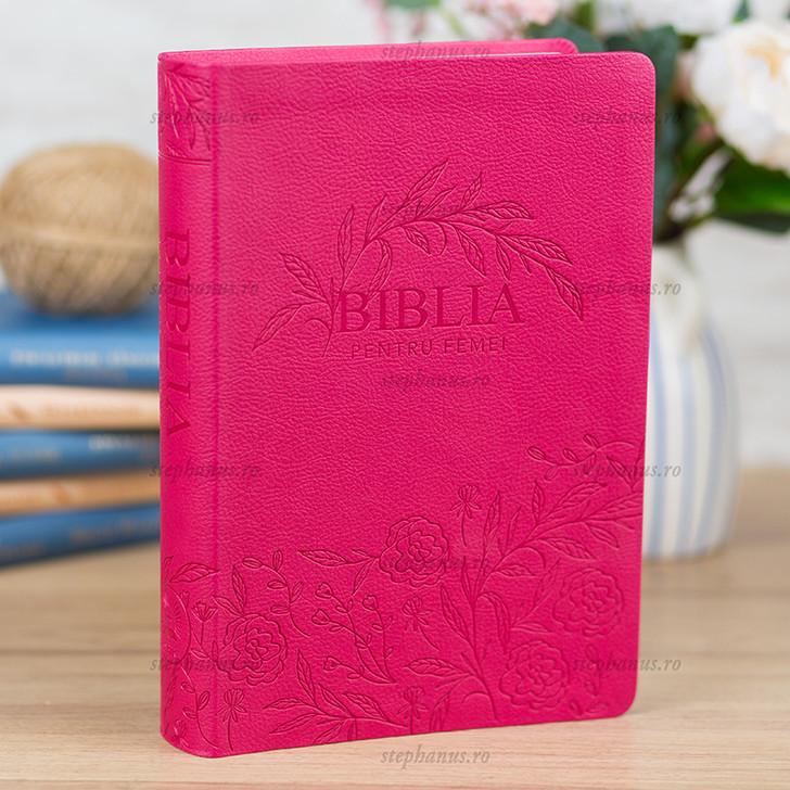 Biblia pentru femei ROZ MICA