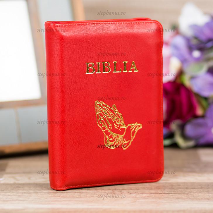 Biblia mica culoarea ROSU