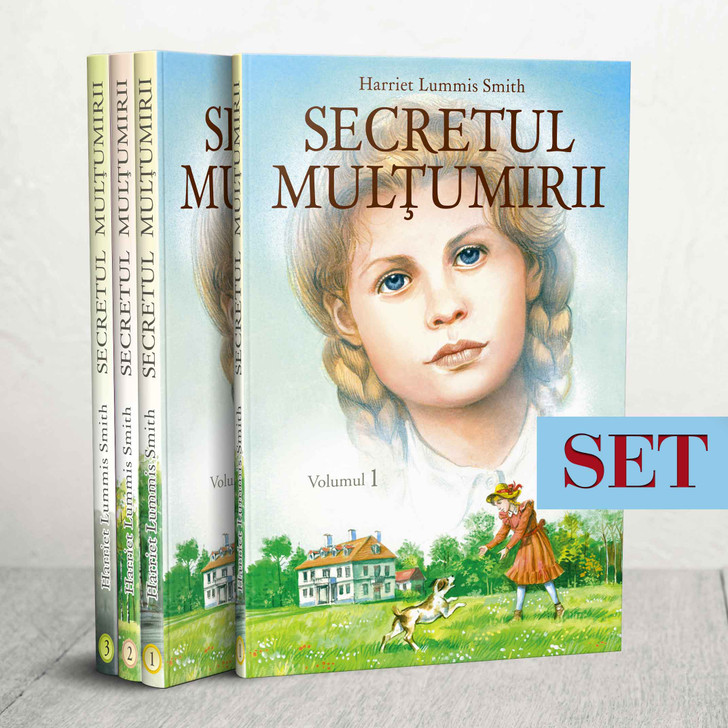 SET - Secretul multumirii vol. 1, 2 si 3