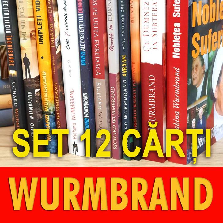 PROMOTIE SET 12 carti - Richard Wurmbrand - STOC LIMITAT!!!