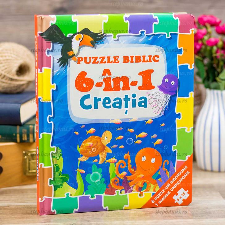 Puzzle biblic 6 în 1 - Creatia