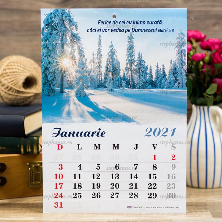 Calendar A4 - 2021 Cc