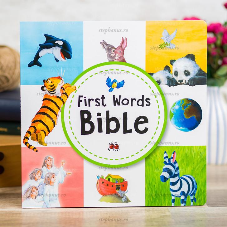 First Words Bible - Primele Cuvinte Din Biblie (En)