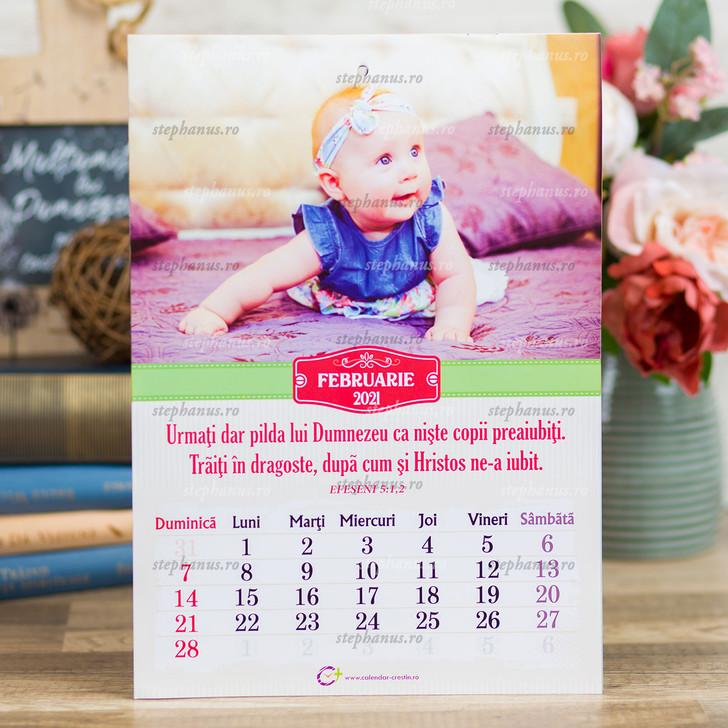 Calendar A4 - Copii - 2021