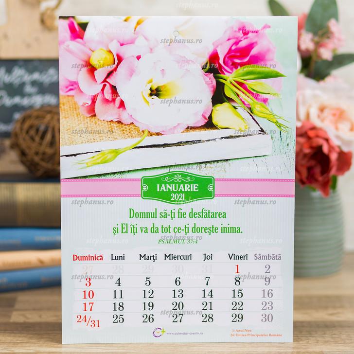 Calendar A4 - Flori - 2021