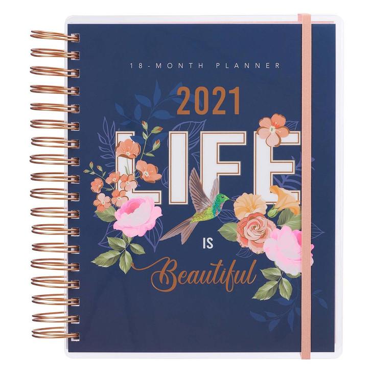 """Agenda/planificator engleza 2021  """"Be Inspired 18-Month Planner For Women"""""""