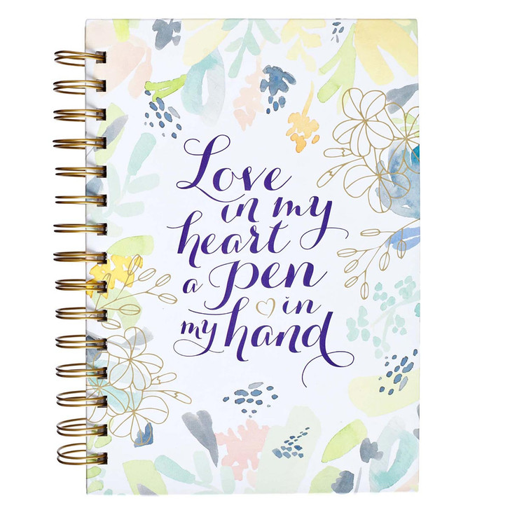 Jurnal - Love in my heart a poem in my hand / engleza