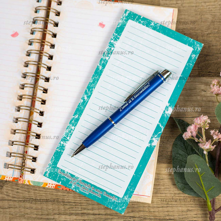 Notes Cu Magnet: Incredinteaza-Ti Lucrarile In Mana Domnului