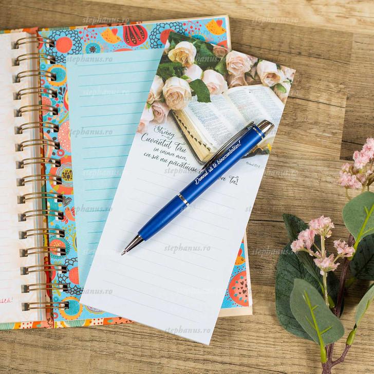 Notes cu magnet - Strang Cuvantul Tau in inima mea!