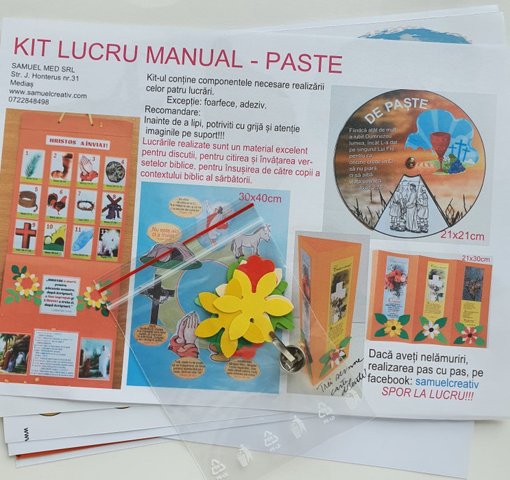 Kit lucru manual - PASTE