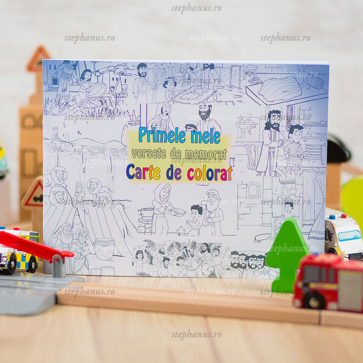 Primele Mele Versete De Memorat - Carte De Colorat