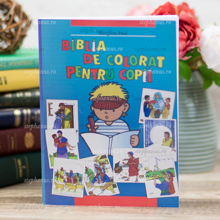 Biblia De Colorat Pentru Copii - Ag