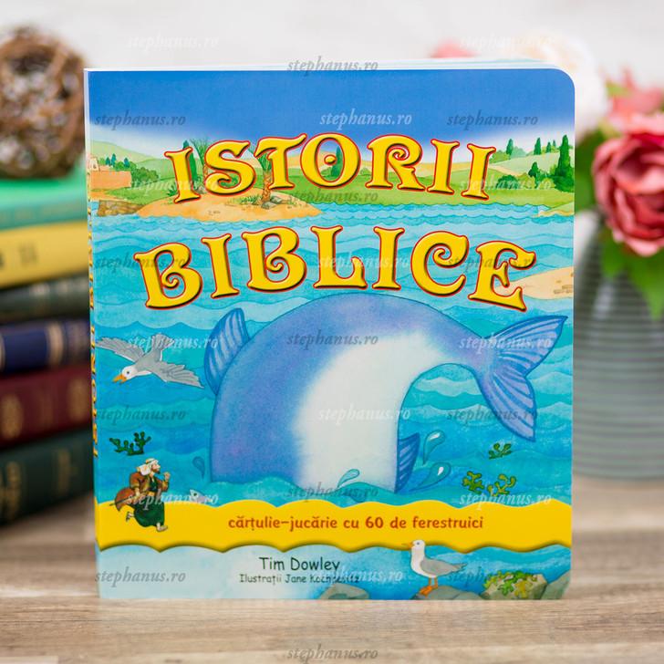 Istorii Biblice Cartulie-Jucarie Cu 60 De Ferestruici