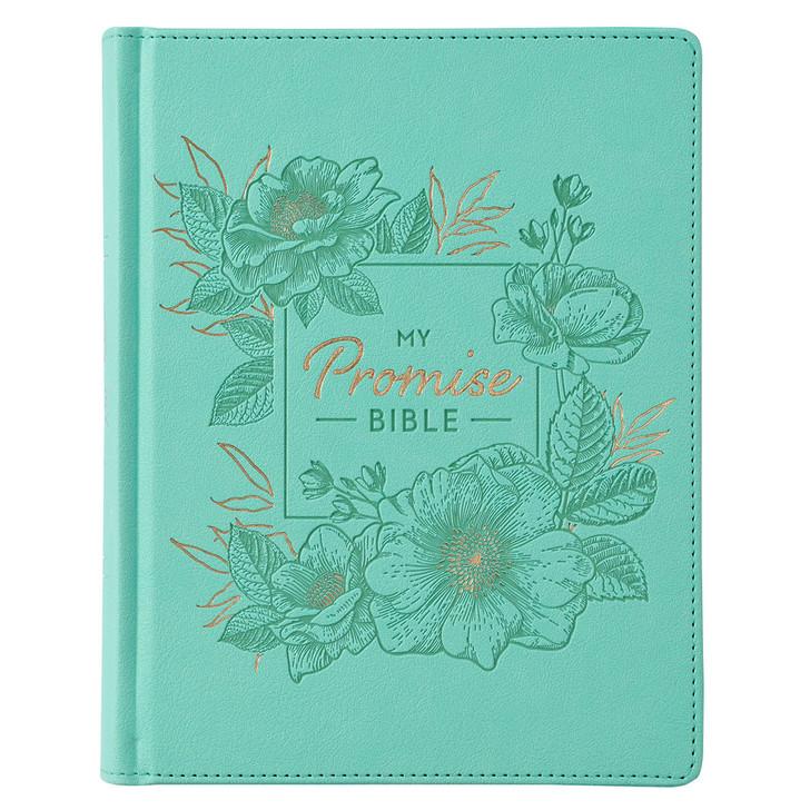 My Promise Bible KJV/ turcoise / Biblia in limba engleza