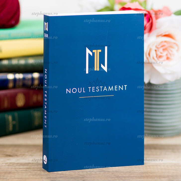 Noul Testament - Ntsbr - Albastru
