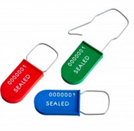 KEY USES BY ELECTRIC UTILITIES FOR PLASTIC PADLOCK SEALS