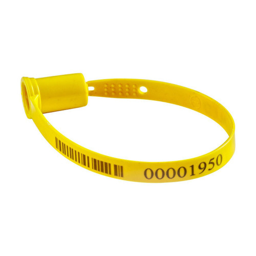 Barcoded Plastic Trailer Seal BCTS