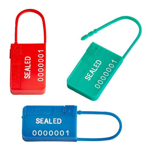 plastic padlock seal - Model 2001 Stock