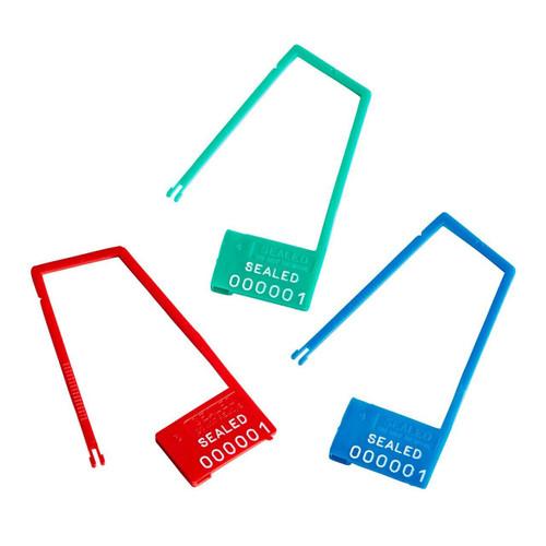 light duty plastic padlock long hasp - Model 1001-LH