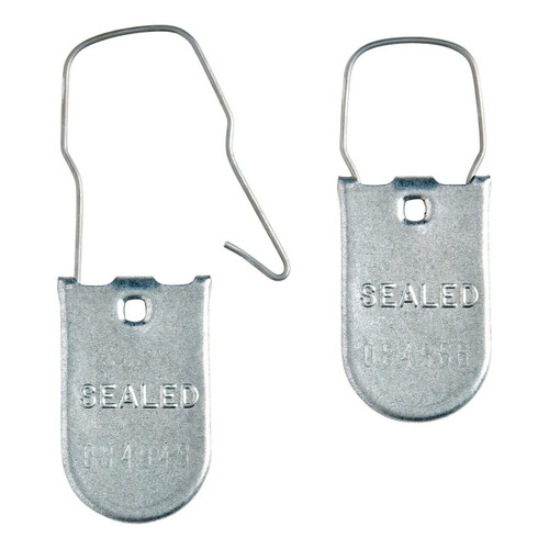 metal padlock meter seals -WP101
