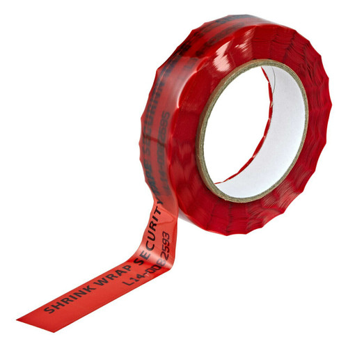 shrink wrap security tape
