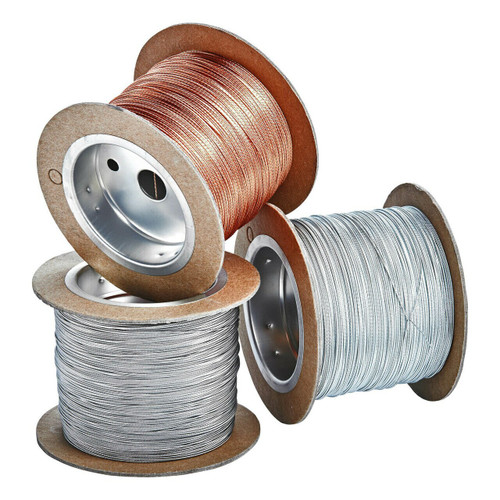galvanized spooled sealing wire, 500 feet