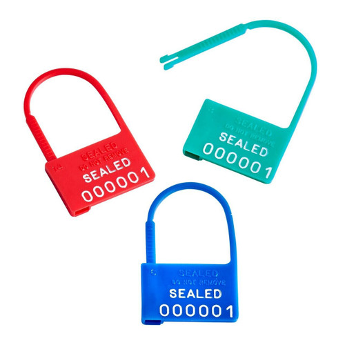 light duty plastic padlock - Model 1001