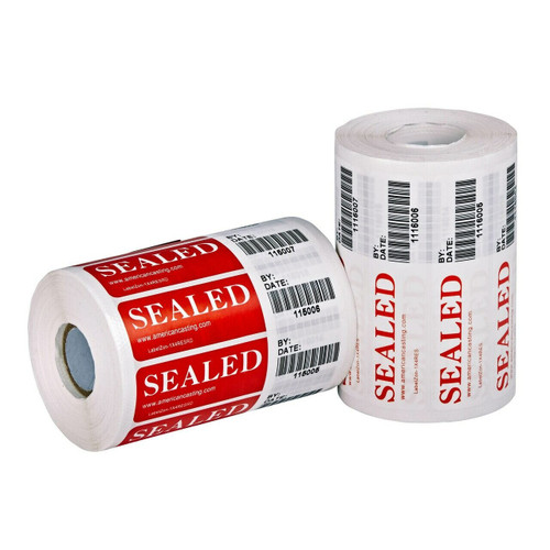 "labelzon high residue labels, 1"" by 4"""