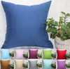 TangDepot Super Silky Soft, HIGHEST QUALITY 100% Cotton Solid Decorative Throw Pillow Covers, Pillowcases, euro shams