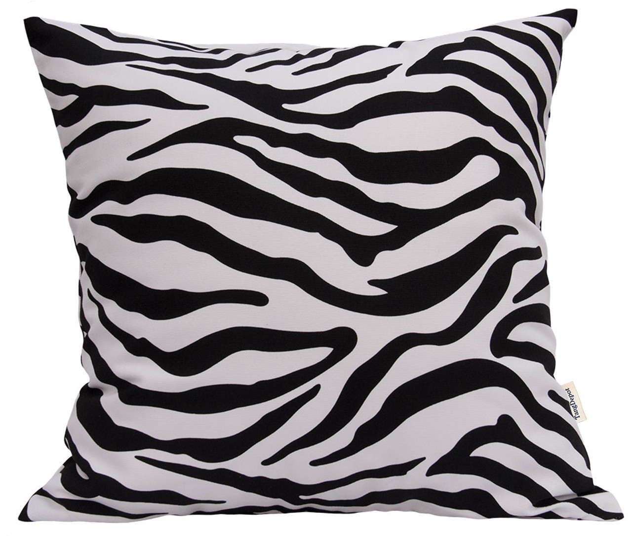 TangDepot Animal Skin Pattern 100% Cotton Canvas Throw Pillow Cover/Euro Sham/Cushion Sham, Many Color & Size options