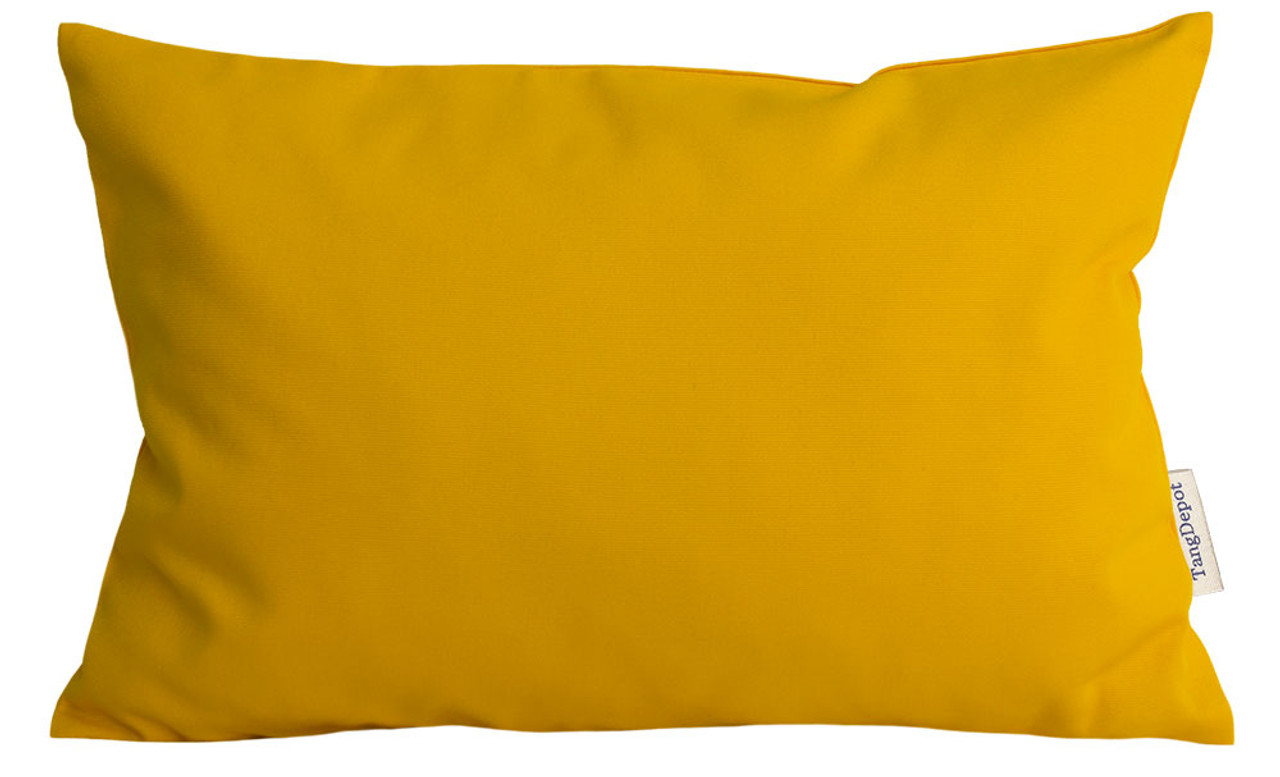 TangDepot Handmade Decorative Solid 100% Cotton Canvas Throw Pillow Covers /Pillow Shams, Many Colors available