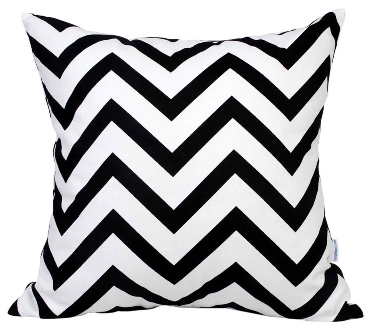 TangDepot Decorative Handmade Zebra-Stripe / Wavy Line 100% Cotton Throw Pillow Covers /Pillow Shams, Many colors and sizes