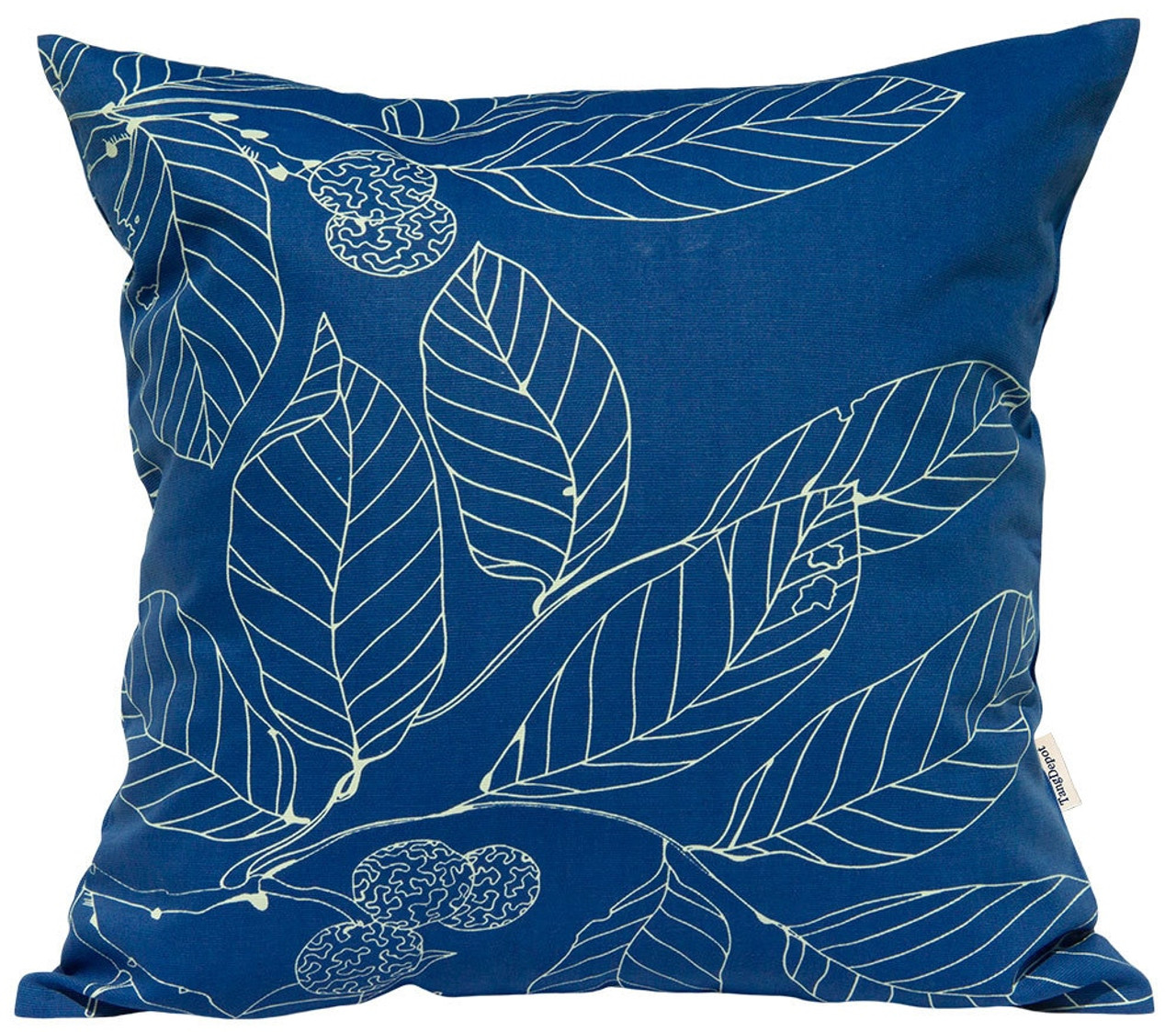 TangDepot 100% Cotton Decorative Handmade Floral Leaf Throw Pillow Cover /Pillow Sham /Cushion Cover, 11 Size options