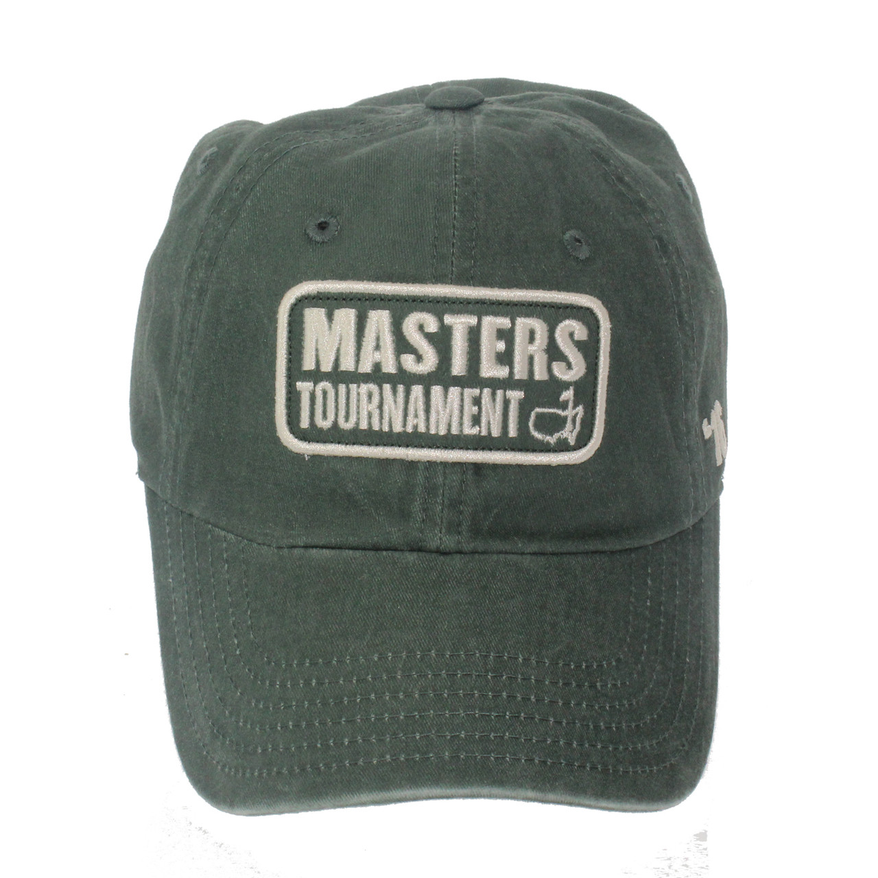 39818e826ae 2016 Masters Green Vintage Caddy Hat