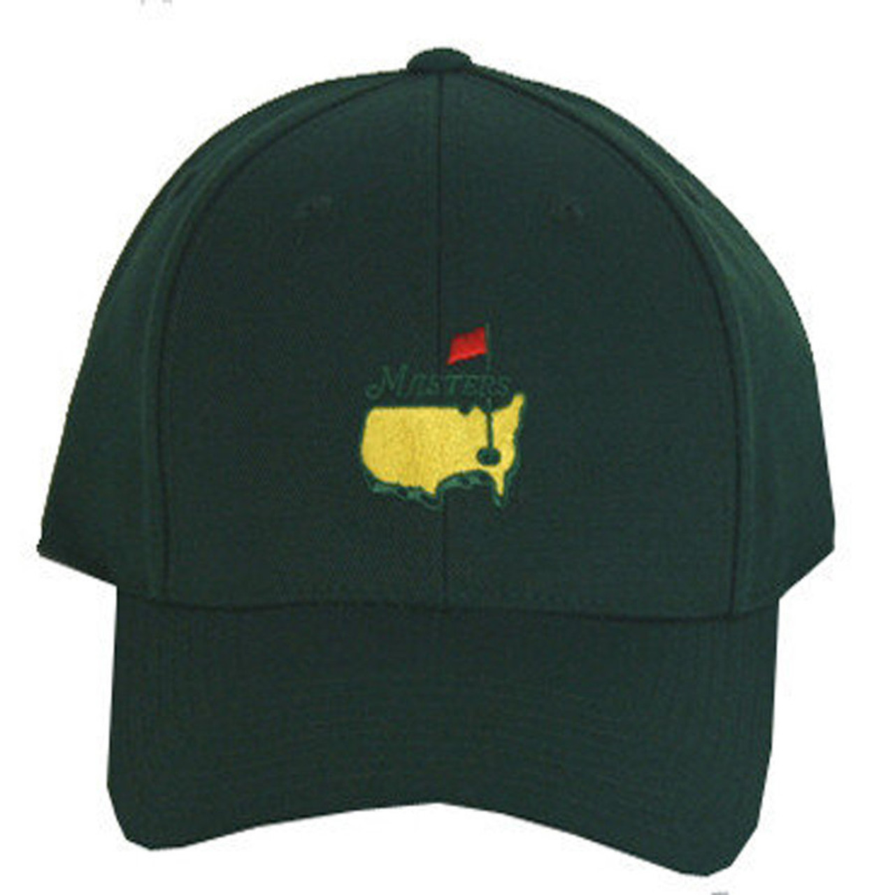 8d5ee02652d Masters Fitted Hat - Green - ProGolfUSA