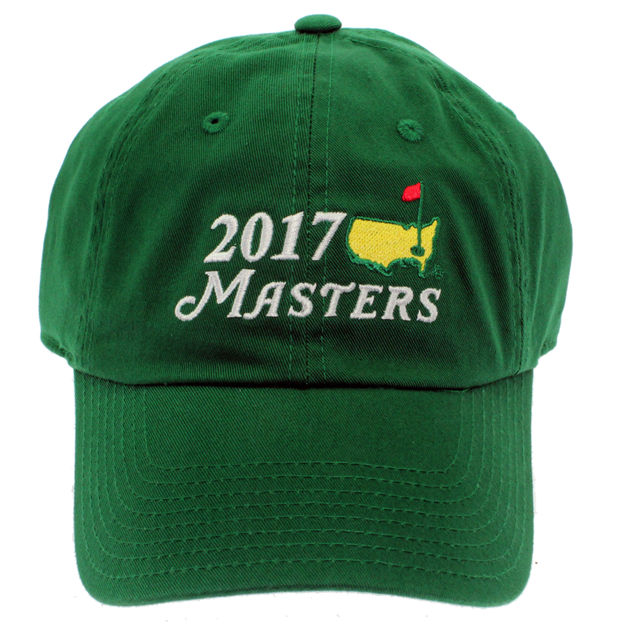 a09975bc978 2018 Masters Big Logo Green Caddy Hat - ProGolfUSA