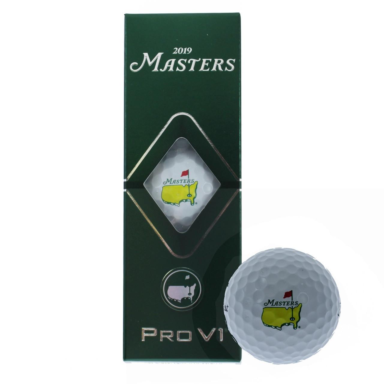 Masters Golf Balls - Pro V1 - 3 Pack 2019