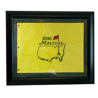 2016 Framed Masters Pin Flag with Custom Mat