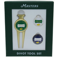 2018 Masters Merchandise - Divot Tool with Two Extra Ball Markers