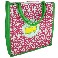 Masters Jute Bag Pink and Green
