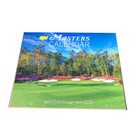 2019 Masters Calendar