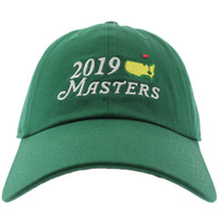 2019 Masters Dated Big Logo Green Caddy Hat
