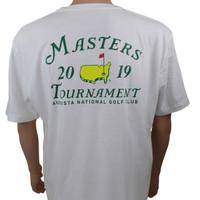 2019 Masters White Dated Logo T-Shirt