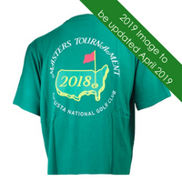 2019 Masters Green Dated Logo T-Shirt