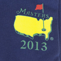 2013 Masters Navy Dated T-Shirt