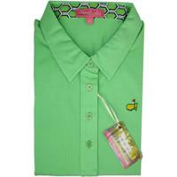 Masters Ladies Magnolia Lane Golf Shirt - Grass Green