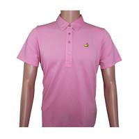 Masters Magnolia Lane Pink Cotton Golf Shirt